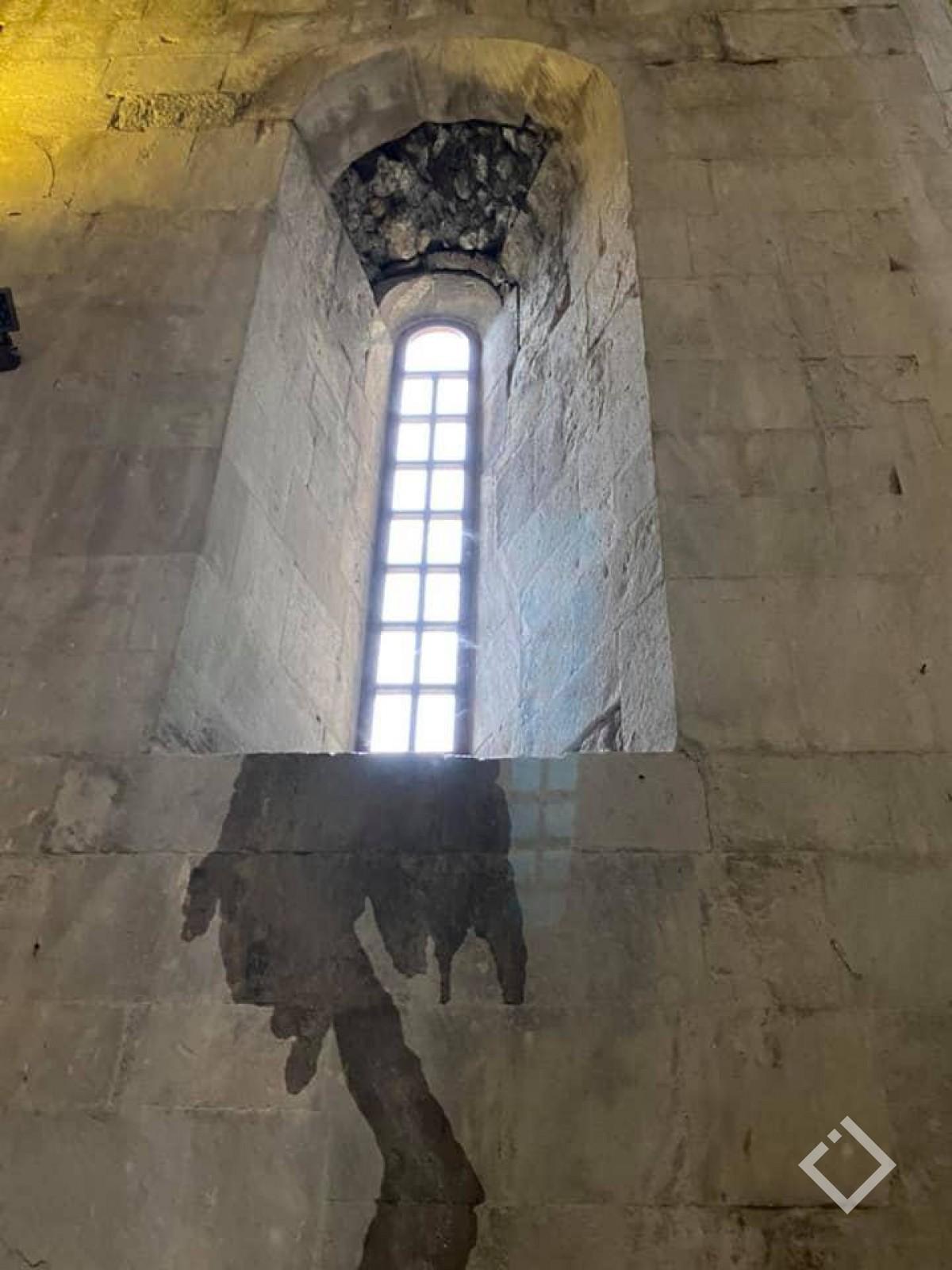 ბაგრატის ტაძარში წყალი ჩადის -ნიკოლოზ ანთიძე