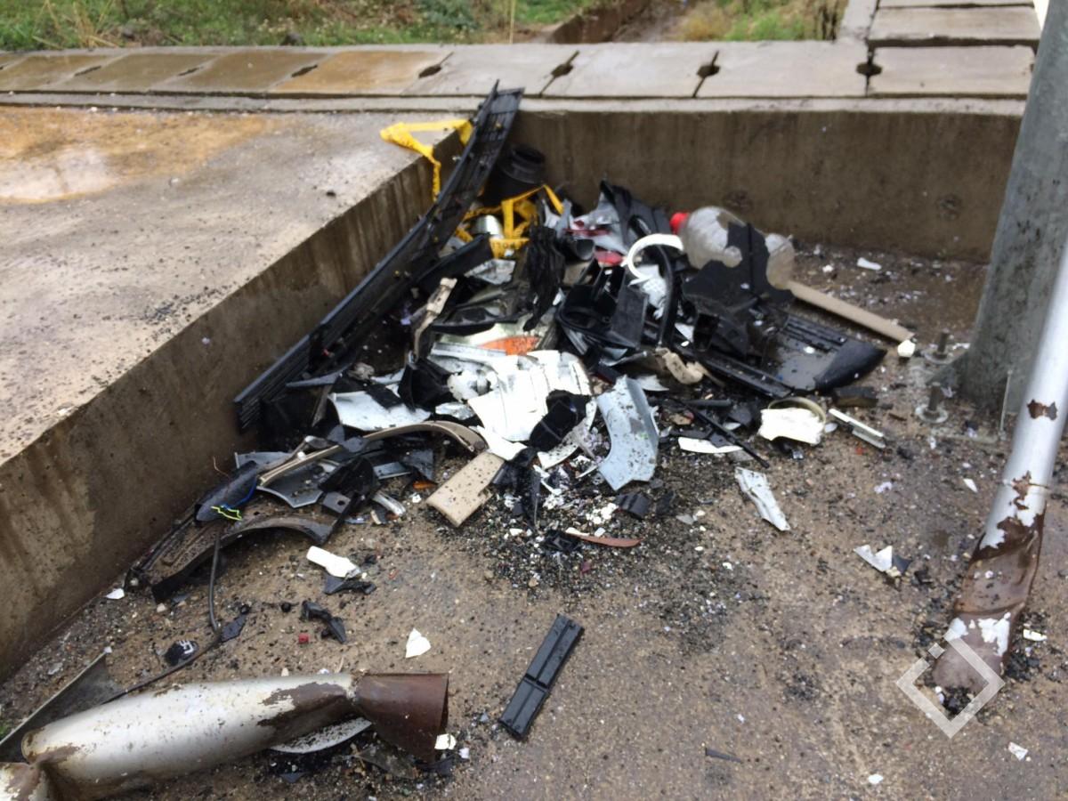 ქობულეთის შემოვლით გზაზე ავარიის შედეგად ორი ადამიანი მძიმედ დაშავდა
