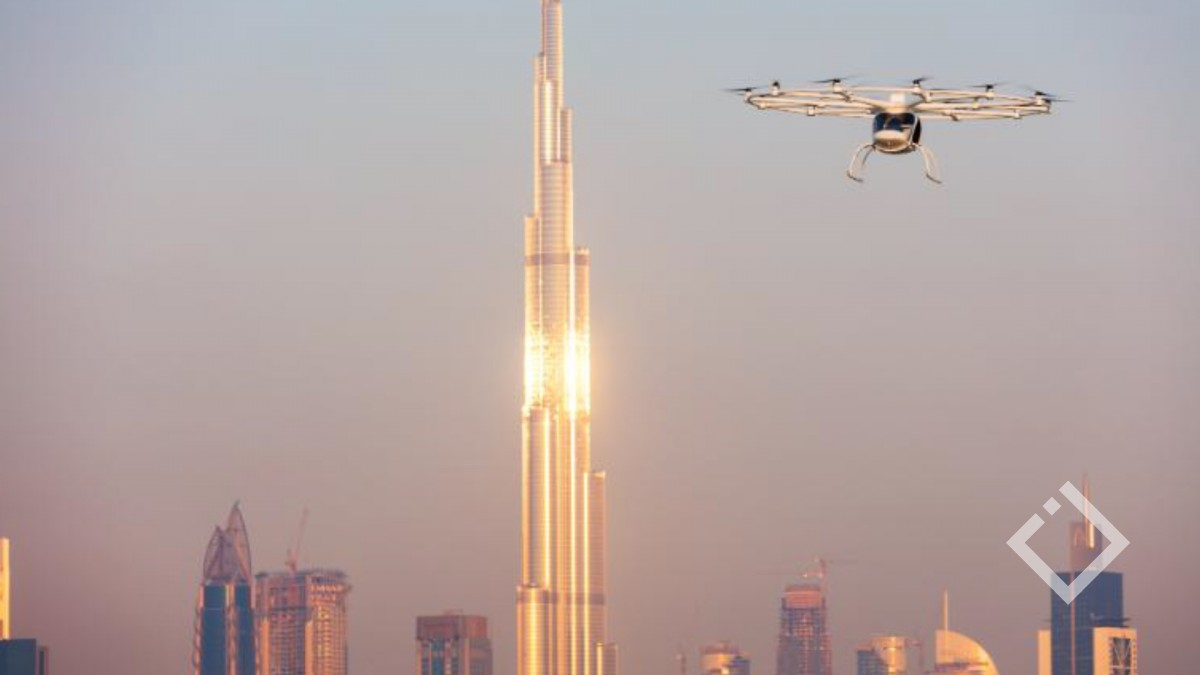 2020 წელს მსოფლიოში პირველი მფრინავი ტაქსი გამოჩნდება