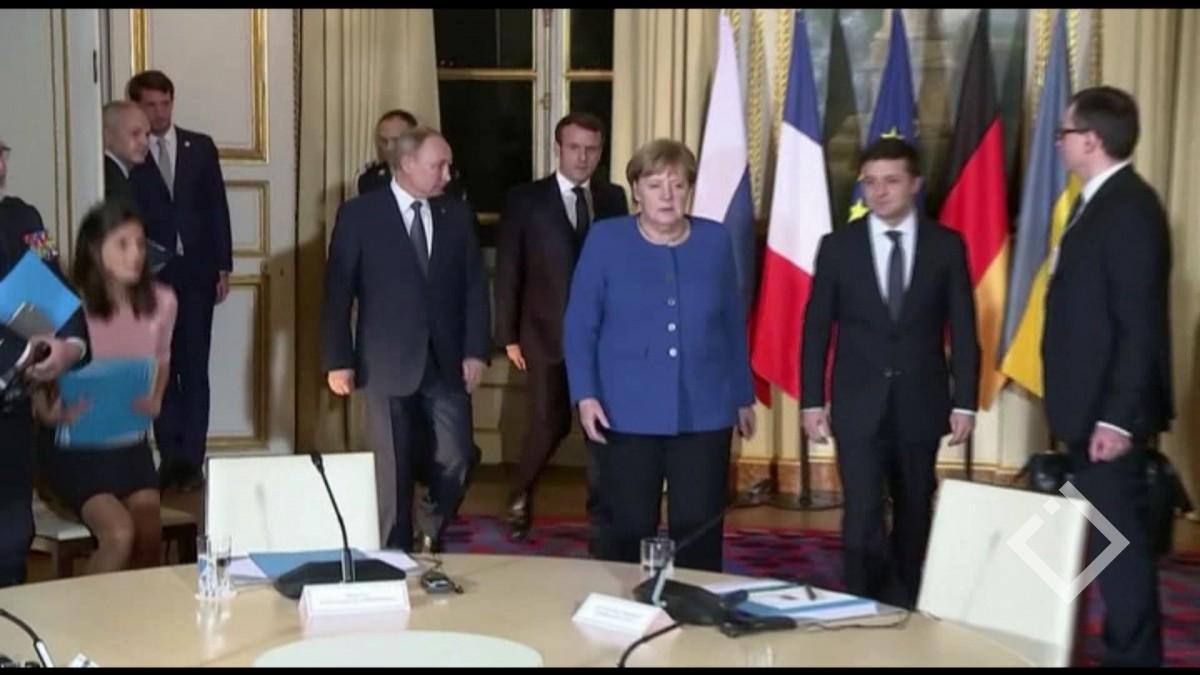 სამი წლის შემდეგ უკრაინისა და რუსეთის ლიდერები ნორმანდიული ფორმატის ფარგლებში ერთმანეთს შეხვდნენ